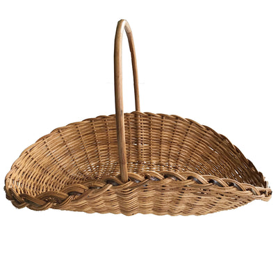 African Hand Woven Wicker Basket with handle - Afrilege