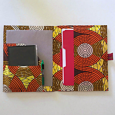 African Handmade document holders/ portfolio computer case (design/color varies) - Afrilege
