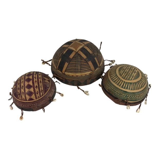 African Calabashes with Cowry - Afrilege