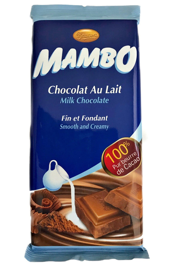 Mambo Milk Chocolate  Bar 100 gr - Cameroon - Afrilege