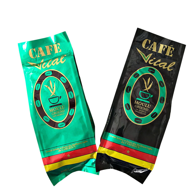 Café Vital Moulu / African ground coffee from Cameroon - Afrilege