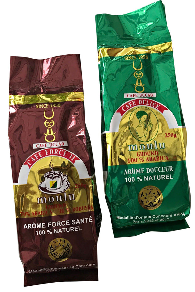 UCCAO African ground coffee from Cameroon - Afrilege