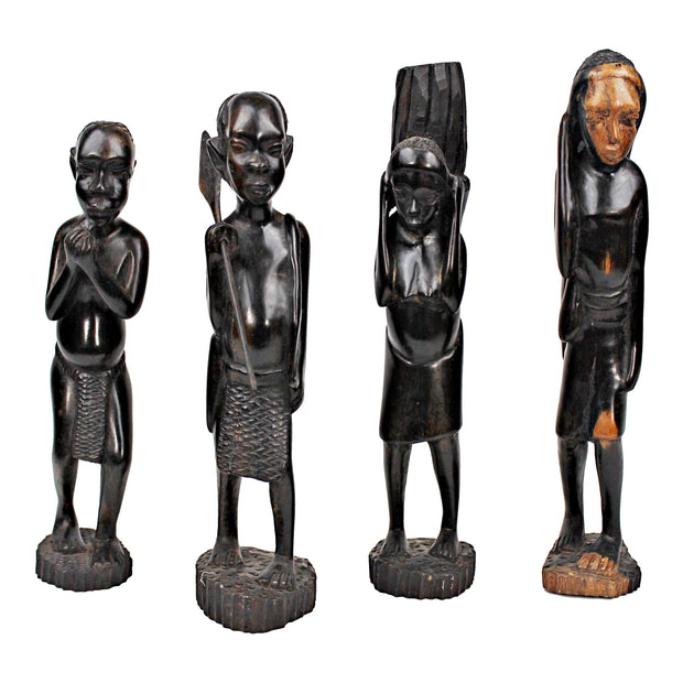 Ebony Hand Carving African Figurine - Central African Republic - Afrilege