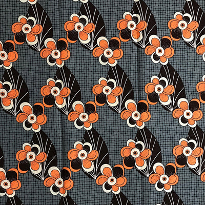 100% Cotton African Fabric by the yard / 1 yard - Afrilege