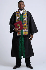 Africa Kente Graduation Cap Covers / Africa Custom Class Year Graduation Cap Topper - Afrilege
