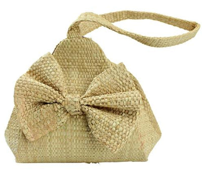 Hand Woven Raffia Fibers African Wedding Bride bag - Afrilege
