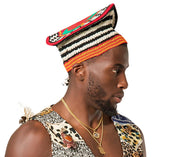 Hat - Toghu Bamenda Handwoven Traditional Attire Hat