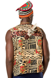 African traditional attire jacket - Afrilege