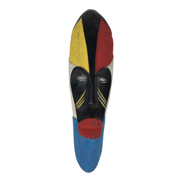 Fang Colorful African Mask - Afrilege
