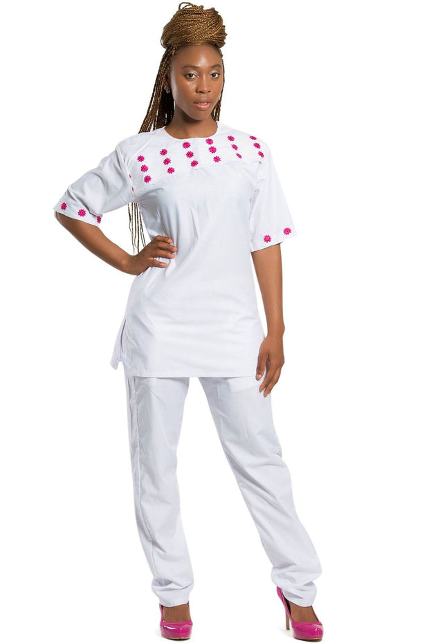 Faraji African 2-pieces clothing (shirt + pant) - Afrilege
