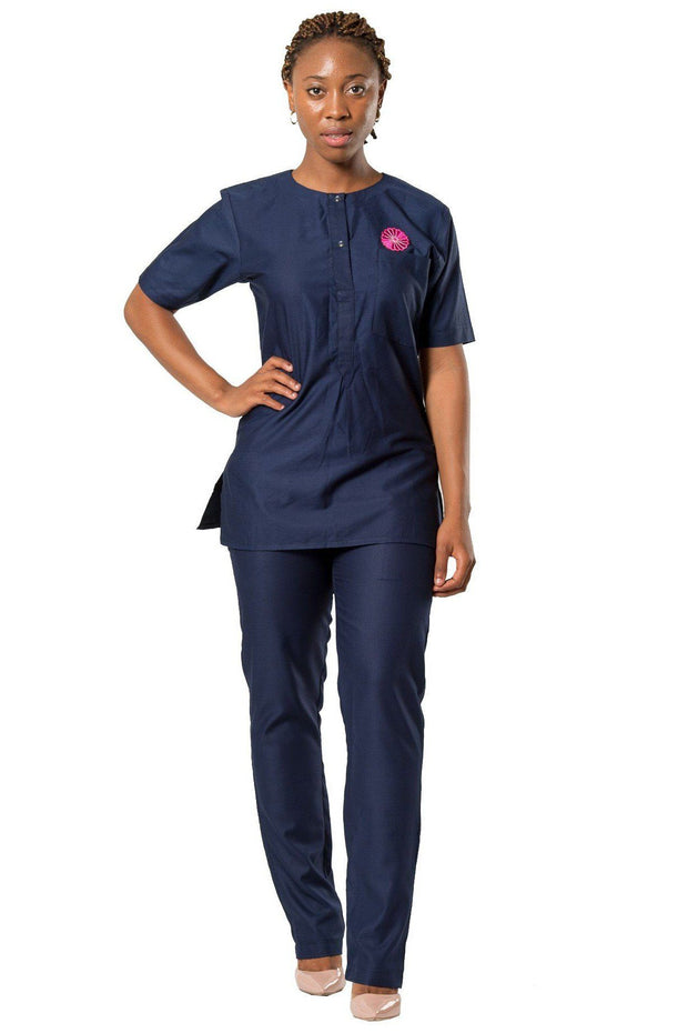 Baba African 2-pieces Women clothing (shirt + pant) - Afrilege