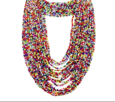 Beaded Statement Necklaces - Afrilege