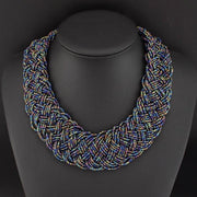 Boho Ethnic Maxi Necklace - Afrilege