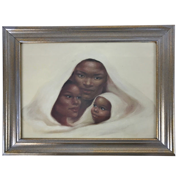 African mother love painting - Afrilege