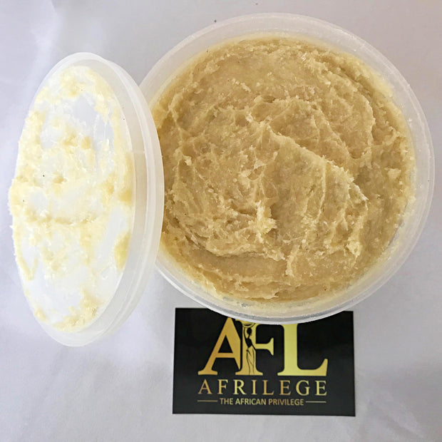 Yellow Unrefined Organic African Shea Butter - Afrilege