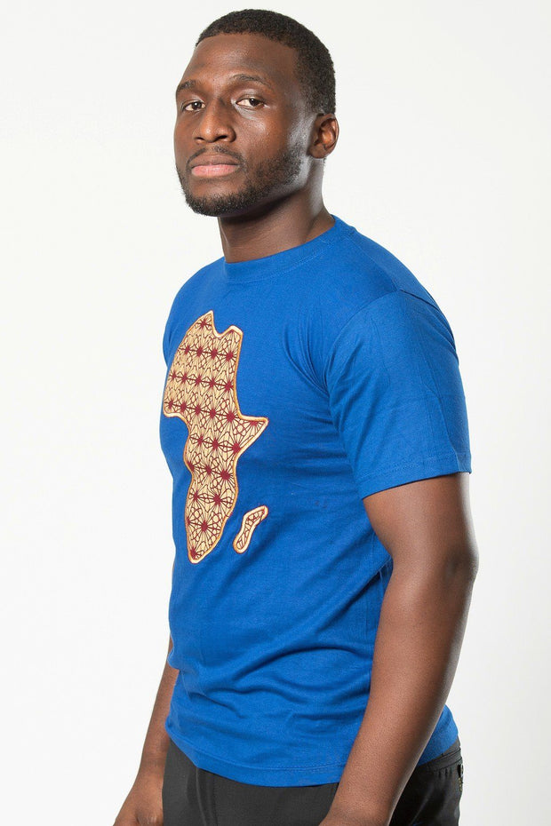 Annie Africa Map T-shirts - 2 colors available - Afrilege