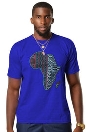 Bami Africa Map T-shirts - 5 colors available - Afrilege