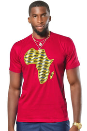 Desta Africa Map T-shirts - 5 colors available - Afrilege