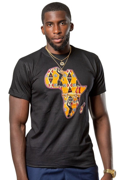 Masika Africa Map T-shirts - 5 colors available - Afrilege