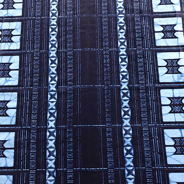 Indigo African Print Table Cloths with napkins - Afrilege