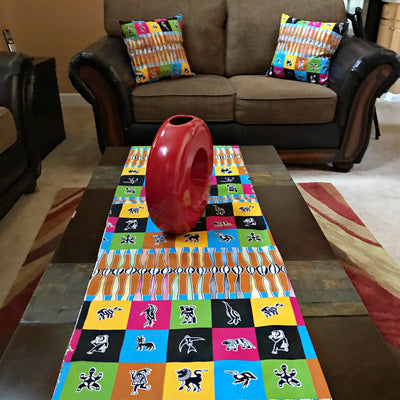 Lulu African Print table runners - Afrilege