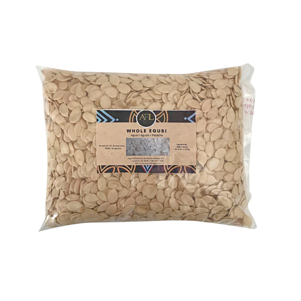 Whole Egusi / Melon Seeds from Nigeria - Afrilege