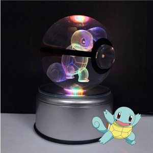 2bea4f8b Squirtle Crystal Pokéball Squirtle Crystal Pokéball