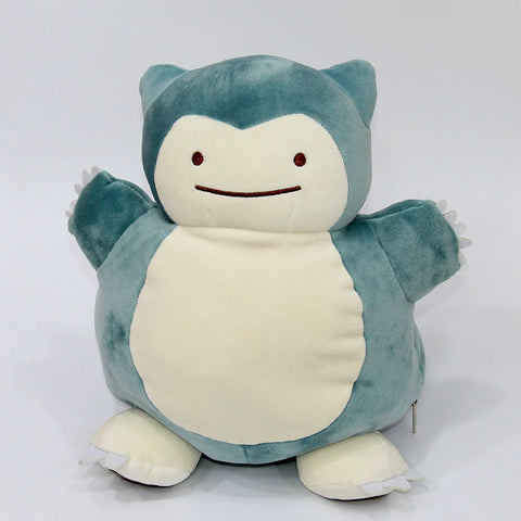 Ditto Snorlax Inside-Out Plushie