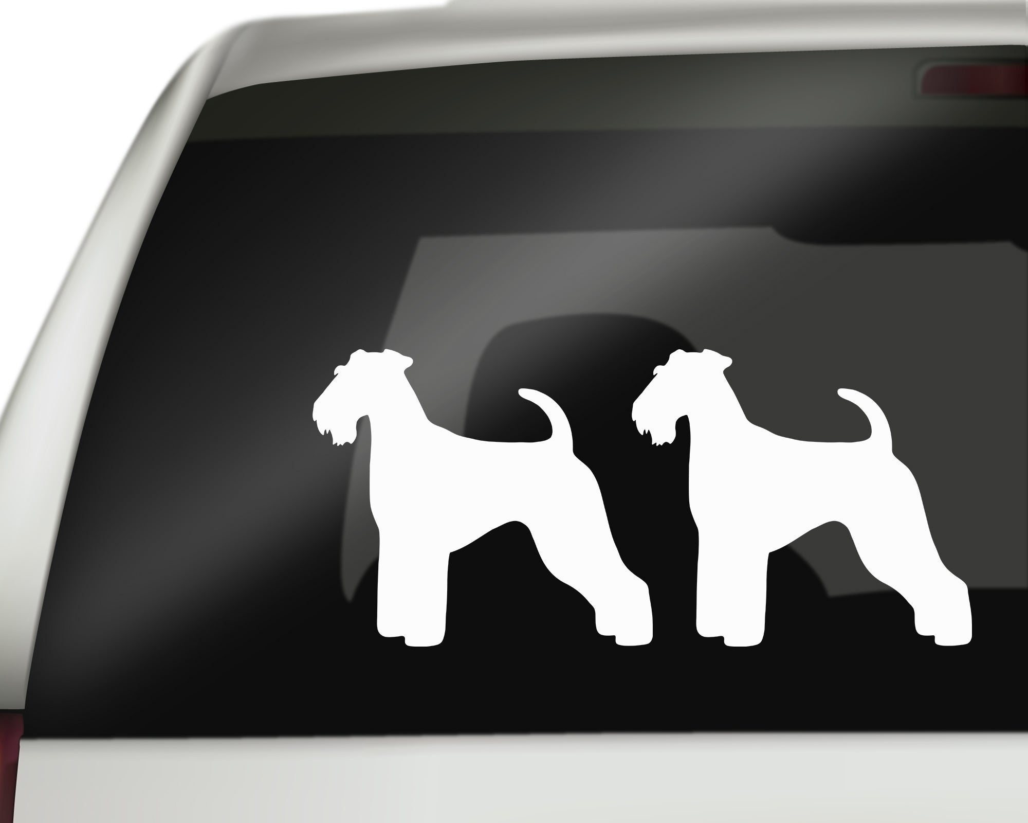 Airedale Terrier Decals - Malamute Mania