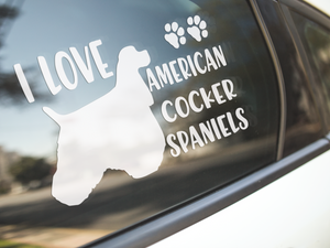 Chinese Crested Decals - Malamute Mania