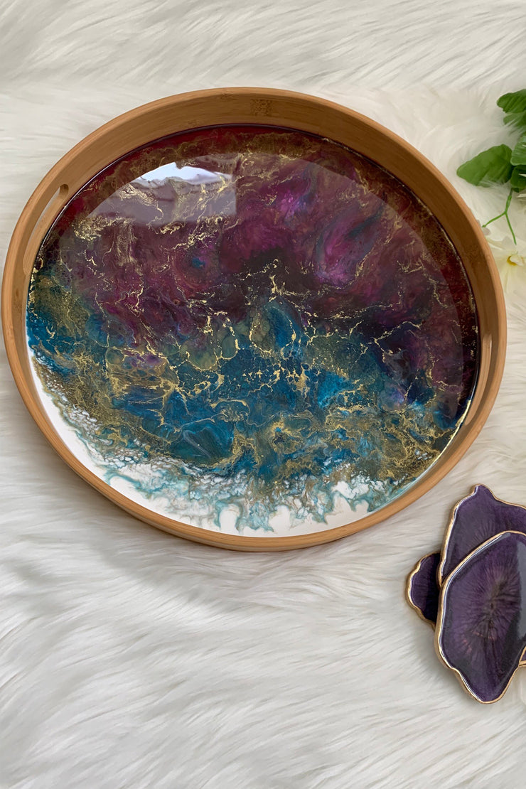 The Purple Resin - Bamboo Tray - ShopAuthentique