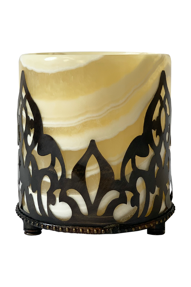 Small Marble Candle - ShopAuthentique