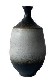 Dark Brown Ombre Pottery Vase (Large) - ShopAuthentique