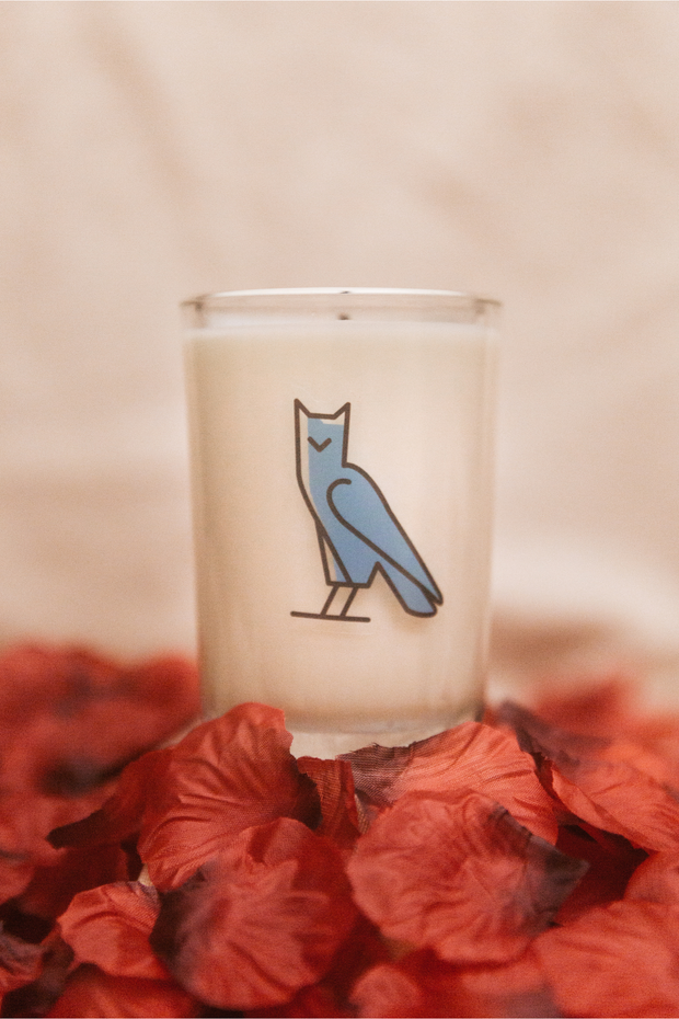 'M' Candle | Letters of Love