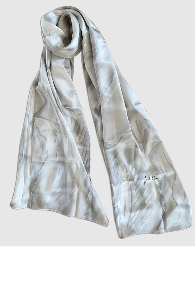 Classic Silver Scarf