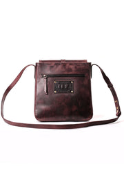 Ash crossbody burgundy