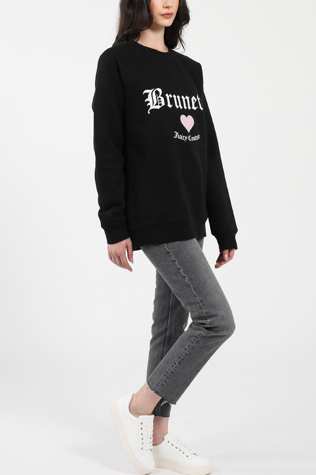 "The ""Brunette"" Classic Crewneck Sweatshirt - ShopAuthentique"