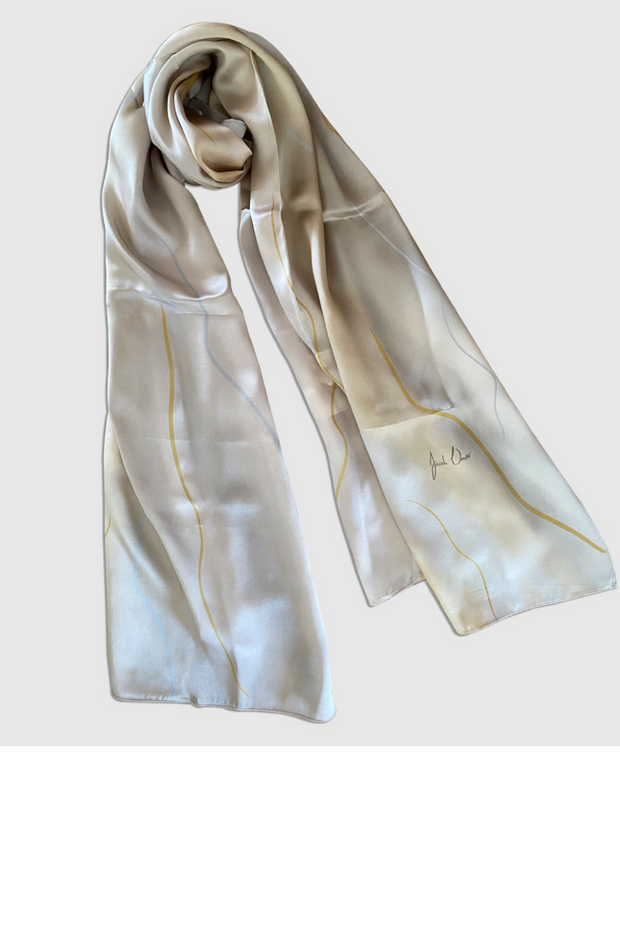 Classic Champagne Scarf