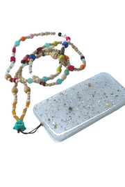 Buddha Rosary Phone Necklace with iPhone Case