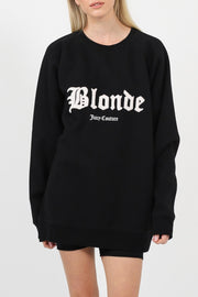 "The ""BLONDE"" Big Sister Crew Neck Sweatshirt"