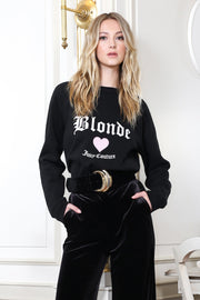 "The ""BLONDE"" Classic Crew Neck Sweatshirt"