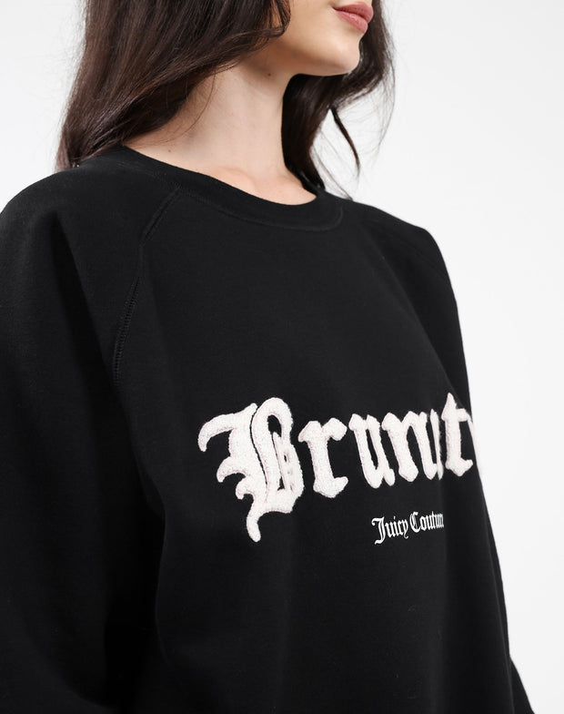 "The ""BRUNETTE"" Big Sister Crew Neck Sweatshirt"