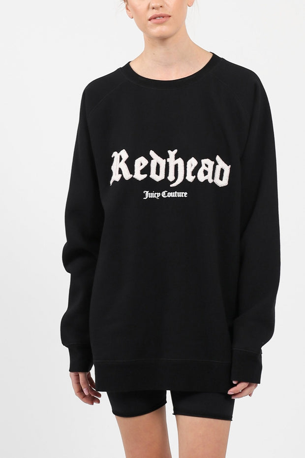 "The ""REDHEAD"" Big Sister Crew Neck Sweatshirt"