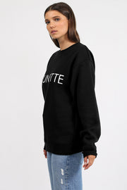 "The ""BRUNETTE"" Classic Crew Neck Sweatshirt 