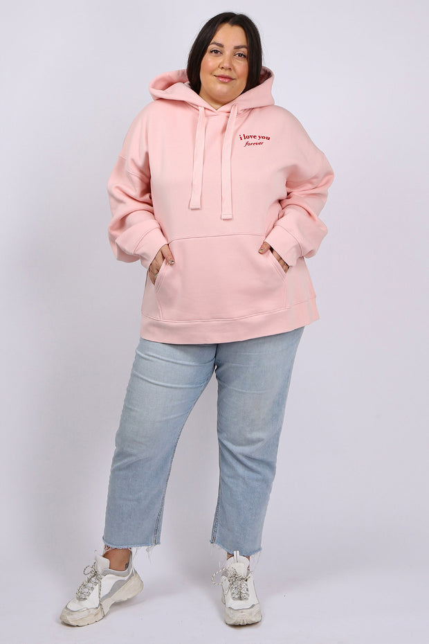 "The ""I LOVE YOU"" Big Sister Hoodie 