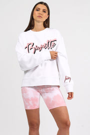 "The ""BRUNETTE"" Step Sister Crew Neck Sweatshirt"