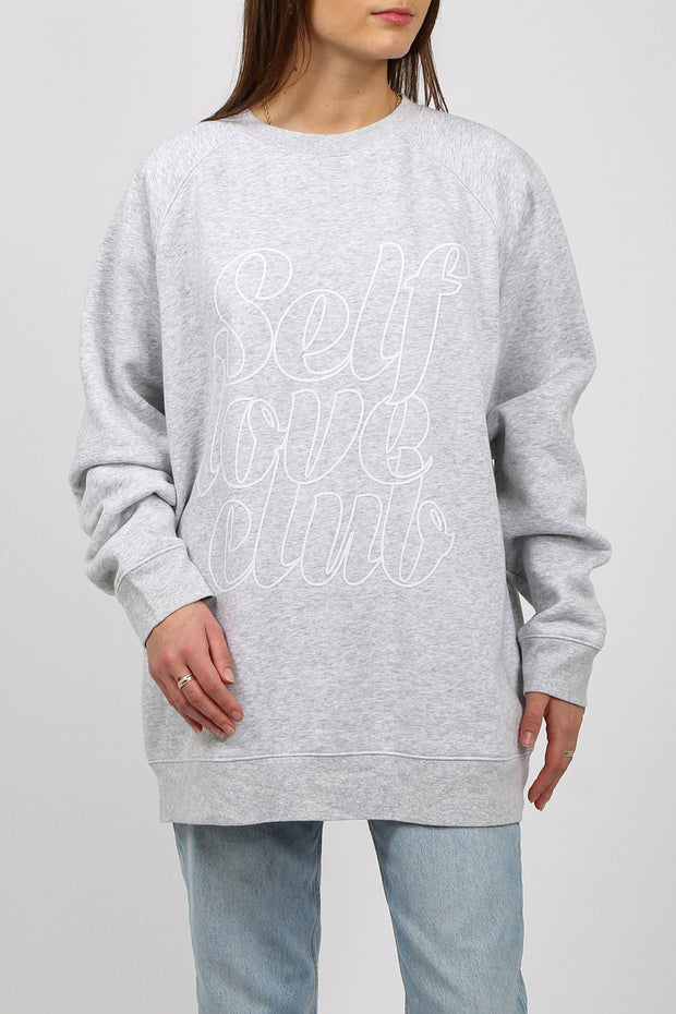 "The ""SELF LOVE"" Big Sister Crew Neck Sweatshirt 