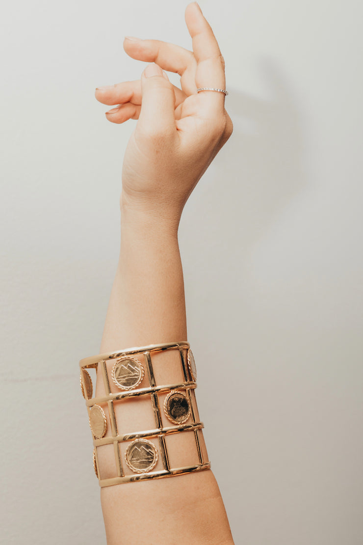 Carreaux Cuff - ShopAuthentique