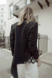 Black Lace Blazer - ShopAuthentique
