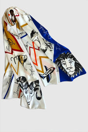 Fire| Zodiac Scarf - ShopAuthentique